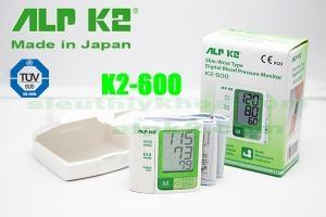 MÁY ĐO HUYẾT ÁP CỔ TAY ALPK2 MODEL K2-600